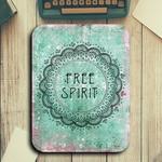 Free Spirit - Rectangle Mouse Pad