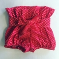 Paper Bag Bloomers with Bow Sash *Custom Order