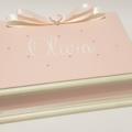 Pink Baby Girl Personalised Keepsake Trinket Treasure Jewellry Memory Wooden Box