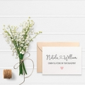 Personalised Engagement Card, Custom Engagement Card, ENG028