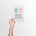 Gender Reveal Card, BBY009