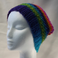 Hat hanndmade 100% acrylic spring autumn crocheted loose back