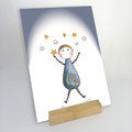 'ANNIE ARTWORKS' - Boxed Collection of Prints & Display Stand