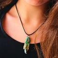 'Sea-Song' reversible abalone NZ paua pendant - ocean organic natural talisman