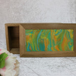 Painted Tropical Spotted Gum Box