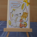 Welcome Baby Card (3d)