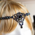 Bohemian Woven Beaded Headpiece