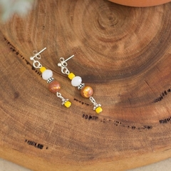 Mookaite Jasper Gemstone Earrings