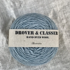'Faded Jeans' 5ply hand dyed superfine merino yarn