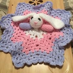 Rabbit snuggle blankets