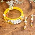Boho Yellow Gemstone Bracelet