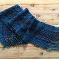 Handwoven vegan scarf