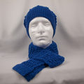 Hat with matching scarf 100% Australian wool