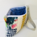 Unique patchwork clutch. One of a kind handmade gift ❤️