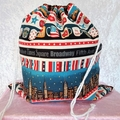 Large Drawstring Bag - Dreaming of New York Design