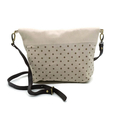 Fold Over Clutch - Brown Dots