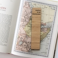 Bookmark Reading Is My Superpower Bamboo Bookmark   Book lover gift