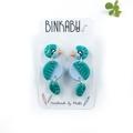 CUSTOM Bird Earrings - Polymer Clay Statement Earrings