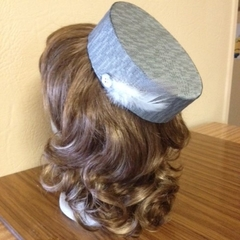 "Pillbox Hat - ""Grey Style"""