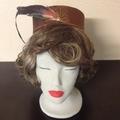 "Pillbox Hat - ""Bronze Sunrise"""