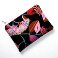 Coin Purse and Sunglass Pouch Gift Set - Eucalyptus Floral