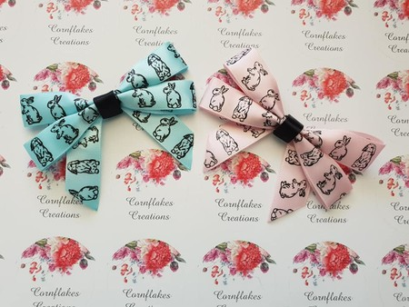 Adorable Bunny Bow FREE POSTAGE