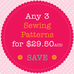 Sewing Pattern Bundle - Save When You Buy 3 PDF Sewing Patterns
