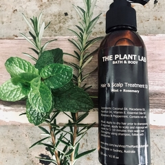 Hair Oil. Luxury Oil Treatment. Rosemary & Peppermint Essential Oils