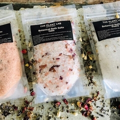Bath Salts Gift Set. All-Natural Vegan. 3 x 200g. 3 Blends Available.
