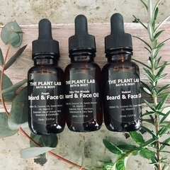 Men's Beard Oil/Face Oil. Natural. Plant-Based Men's Skincare. Scented/Unscented