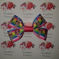 LOL Inspired Hair Bow FREE POSTAGE.