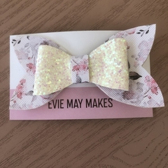 Gorgeous Faux Leather Hair Bow