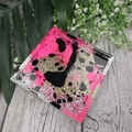 Square Mug Coasters -  Glitter For Drink or as a Paperweight - SINGLE- Resin