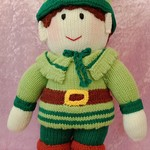 Large Hand Knitted Doll - Robin Hood