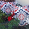 """OUTDOOR CUSHION COVERS - SET OF 2 (20""""/50 cm)"""
