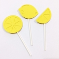 Lemon Cupcake Toppers. Pink Lemonade Birthday party, first birthday, baby shower