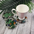 Mug Coasters - COMPUTER CHIP For Drink or as a Paperweight - SINGLE- Resin