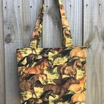 Horse Print Shoulder Bag