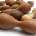 Toys of Wood - Natural Wooden Baby Rattle