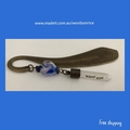 YOU SOOTHE MY SOUL -personalised  words on rice bronze colour bookmark