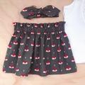 Size 3 - High Waist Skirt - Fox -Cotton - Olive