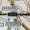Melbourne Trams A5 Notebook