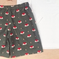 Size 2 - Shorts - Fox - Olive - Cotton - Boys