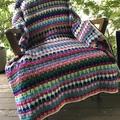 Weeping Rainbows Blanket