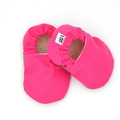 Hot Pink Pink Soft Sole Baby Shoes
