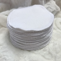 Bulk Buys Thick Premium Grade White Reusable Cotton Makeup Remover