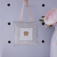 Tooth Fairy Pillow | Pink Flowers | Gift Boxed | Free Shipping