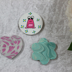 Set of 3 Handmade Magnets