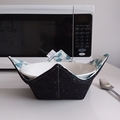 Hot Bowl Cozy | Hot Bowl Holder | Green | Reversible | Free Shipping