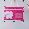 Tooth Fairy Pillow | Pink Unicorns | Gift Boxed | Free Shipping